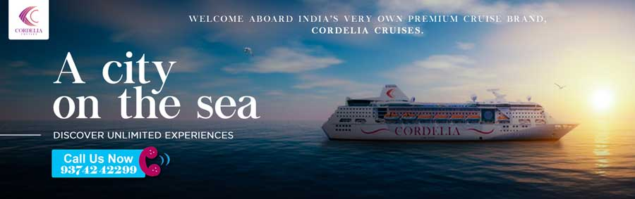Book Cordelia Cruise 2 Nights/ 3 Days Package for just ₹14,795!